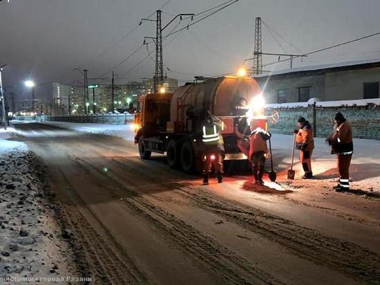 В Рязани заделали дорожные ямы общей площадью 500 квадратных метров