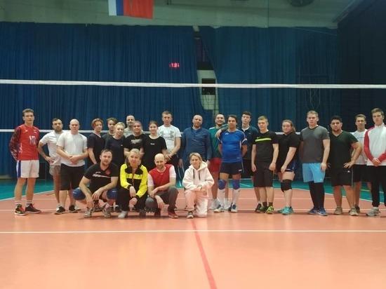 Рождественский турнир по волейболу прошел в городском округе Серпухов