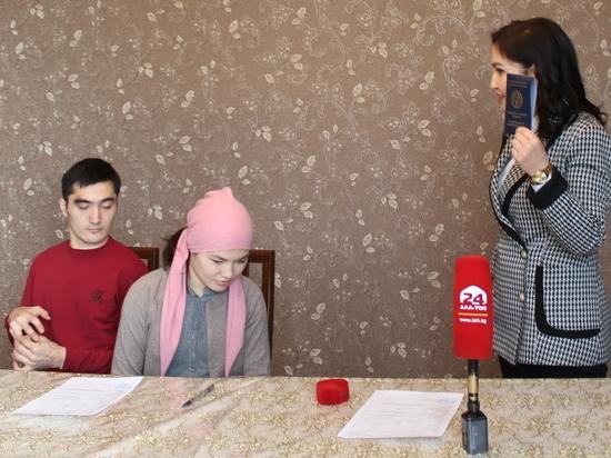 История любви молодоженов с ДЦП Шухрата и Эльнуры в Кыргызстане