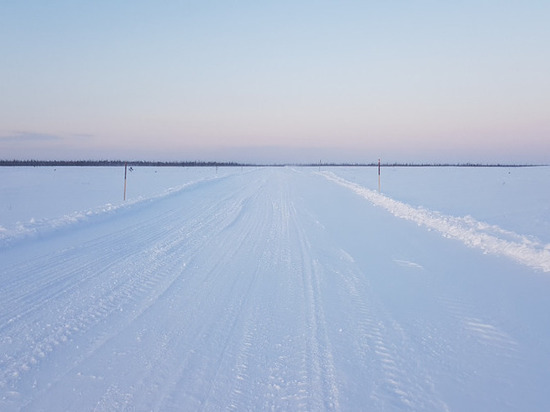 По зимнику Коротчаево — Красноселькуп могут проехать только полноприводные авто