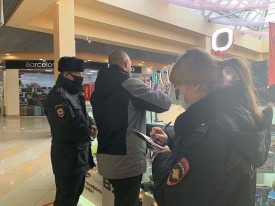 Ивановцев продолжают штрафовать за нарушение масочного режима