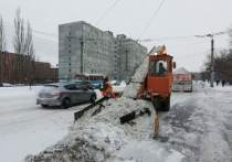 Омск борется с последствиями сильного снегопада