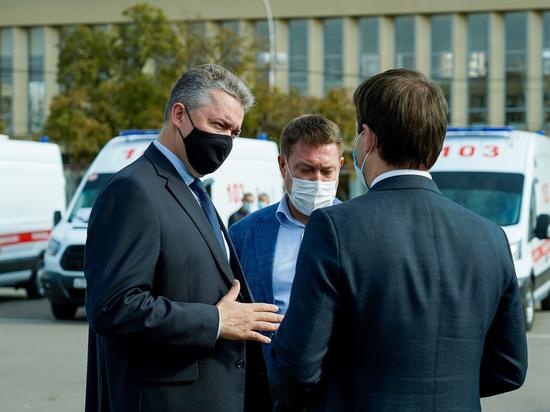 Губернатор Ставрополья привился от коронавируса и поехал на работу