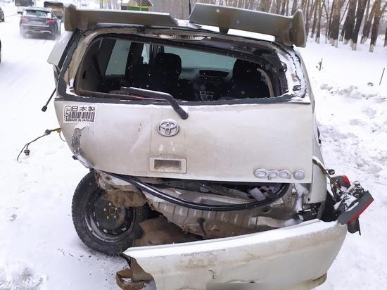 Несколько человек пострадали в тройном ДТП в кузбасском городе