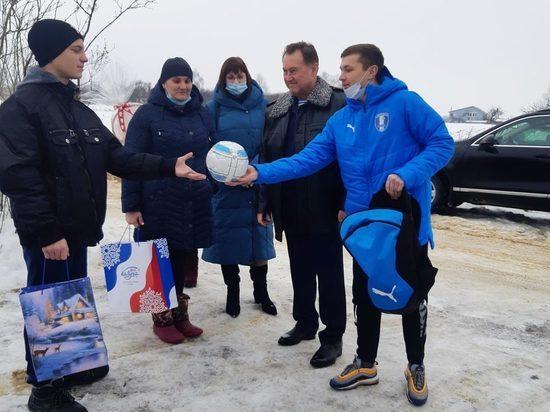 Власти Калужской области осуществили мечту юного футболиста