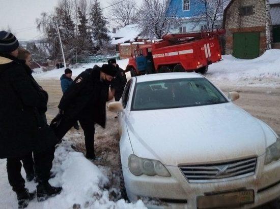 В Михайлове Рязанской области водитель потерял сознание за рулем