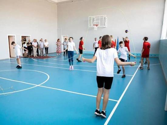 В сельских школах Тамбовской области отремонтируют спортзалы