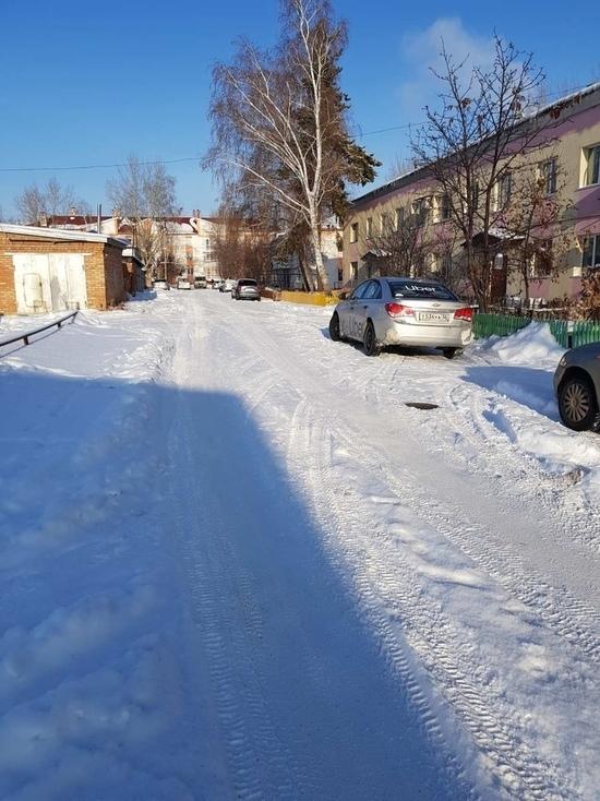 Бузулучан ничего кроме нечищеного снега пока не волнует