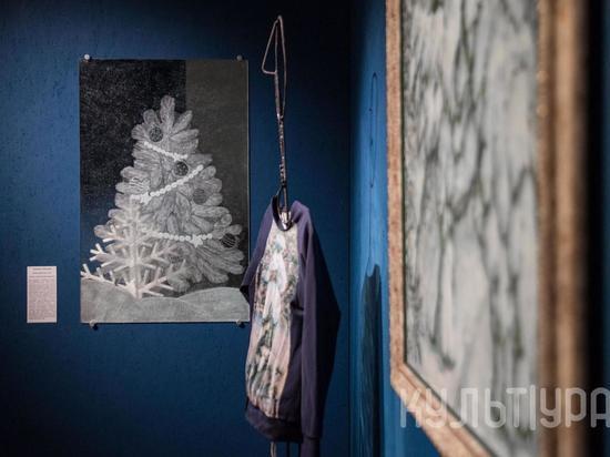 Музей «Искусство Омска» собрал коллекцию из 50 необычных елок