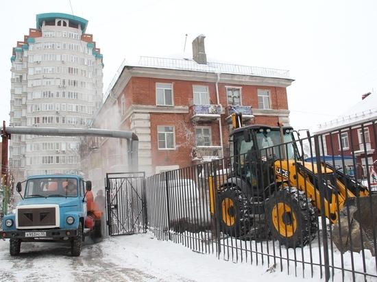 Теплоснабжающие организации Омска работают в усиленном режиме