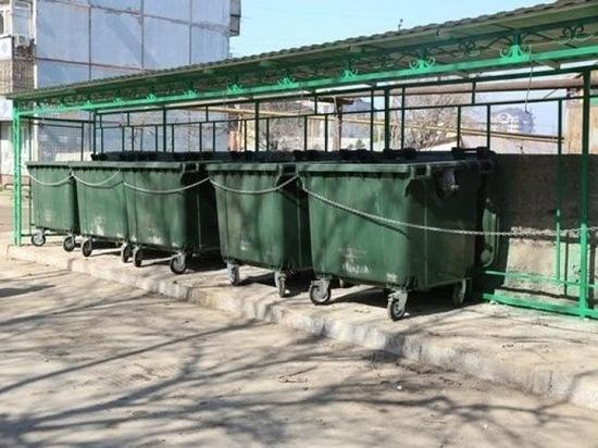 В Дагестан поставили фиктивные контейнеры
