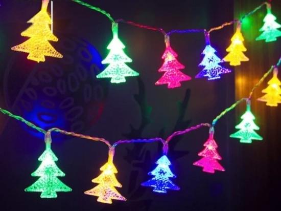 Жительница Иванова украла гирлянду с новогодней елки
