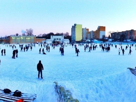 Каток на стадионе «Локомотив» в Рязани планируют открыть 15 января