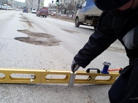 ГИБДД проверила состояние дороги на мосту на юге Волгограда