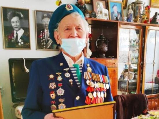 Томский ветеран войны Федор Бондаренко отметил 95-летие