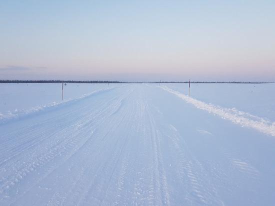 Зимник Коротчаево — Красноселькуп закрыли из-за метели