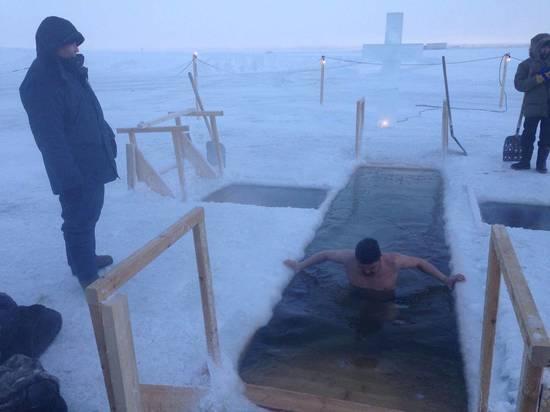 Крещенские купания в Якутии отменены