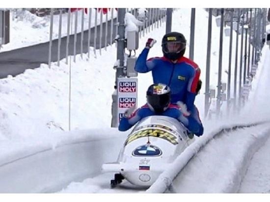 Новосибирский бобслеист впервые в истории завоевал медаль чемпионата Европы