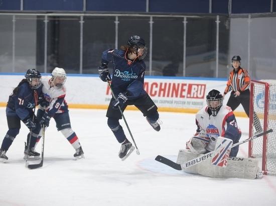 Красноярские хоккеистки в овертайме взяли реванш над «Динамо-Невой»