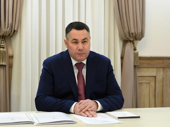 Игорь Руденя обсудил газификацию села в Тверской области с главой района