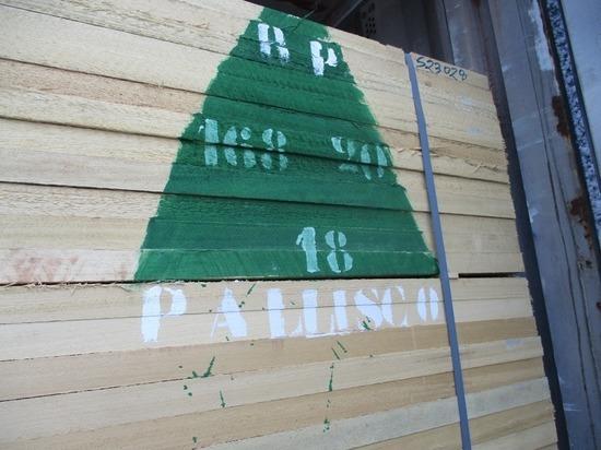 Экзотическую древесину ввезли в Псковскую область