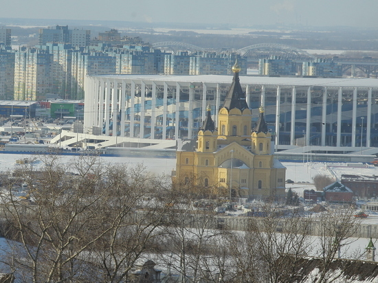 Небольшое потепление ожидается в Нижнем Новгороде 14 января