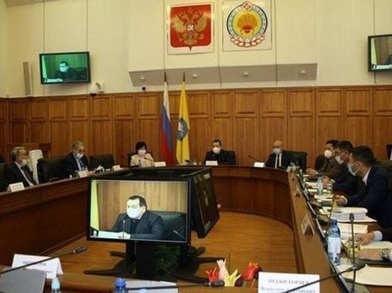 Рассмотрят ли депутаты Хакасии обращение парламента Калмыкии об отставке Штыгашева