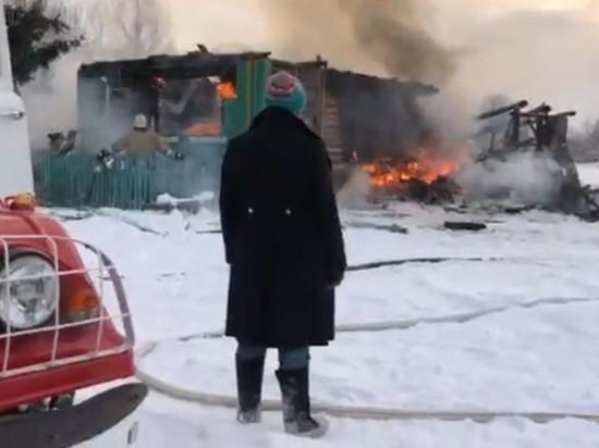 В Камешковском районе Владимирской  области сгорел сельский театр