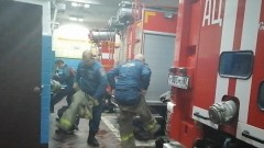 Пожарная тревога в смоленской части. На выезд 37 секунд