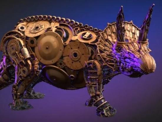 Скульптура динозавра в Опочке вошла в ТОП-10 на всероссийском конкурсе
