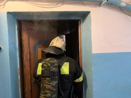 В Новомосковске на пожаре пострадал мужчина