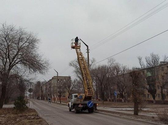 В Знаменске до конца января обновят уличное освещение
