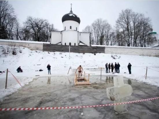 Крещенскую купель оборудуют возле Мирожского монастыря в Пскове
