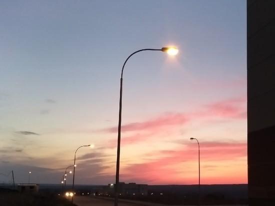 Уличное освещение постепенно заменяют на светодиодное