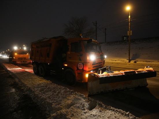 В Волгограде всю ночь будут обрабатывать и чистить дороги