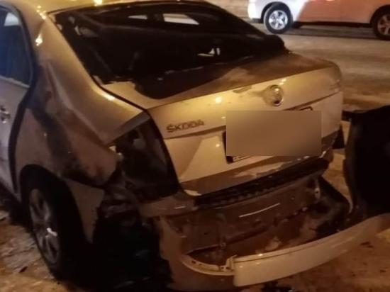 Женщина попала в больницу после ДТП с маршруткой в Кемерове