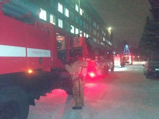 Прокуратура проверяет причины пожара в омской больнице