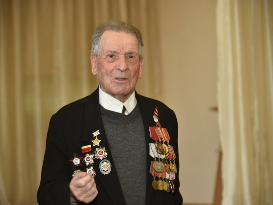 Карельскому ветерану, которого знает президент, исполнилось 95 лет