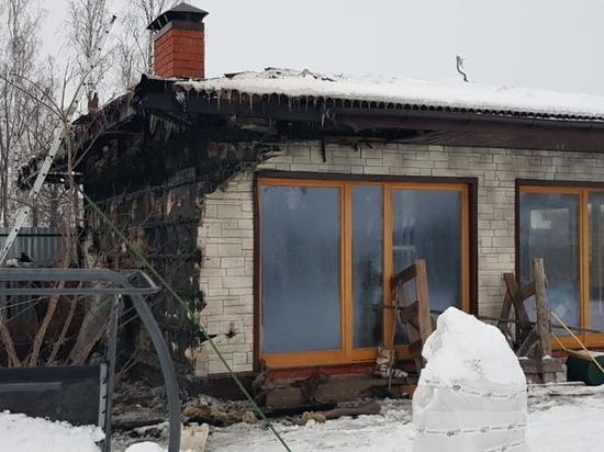 Строение для барбекю загорелось в Гагаринском районе из-за неисправной печи