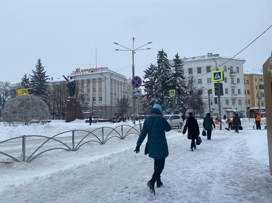 В Рязанской области объявлено метеопредупреждение из-за дорожных условий