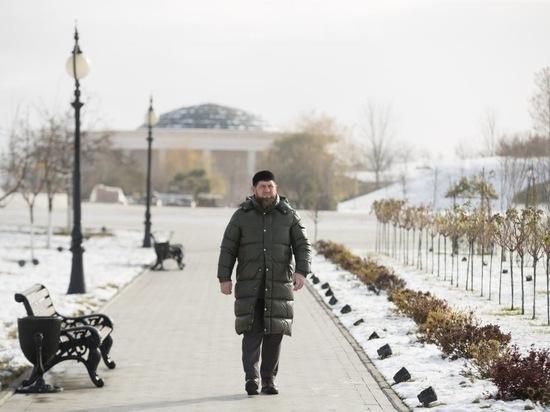 Кадыров показал новый дом для малоимущей семьи из 12 человек
