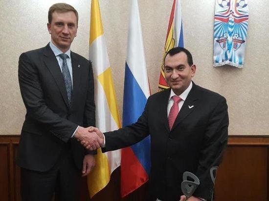 Роман Амстиславский встретился с главой администрации Ессентуков