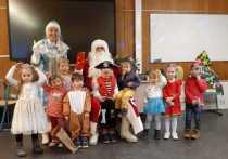 Германия: Новогодние утренники в «Умной школе» Гамбурга
