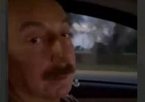 Алиев впервые отправился в город Шуша в Карабахе