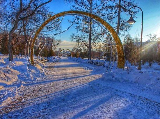 До Крещения в Омске сохранятся небольшие морозы