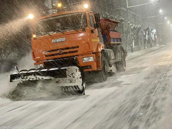 Мэрия Рязани предупредила горожан о снегопадах и метели
