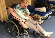 Певица, которая упала в оркестровую яму и продолжила петь, рассказала о тяжелом восстановлении