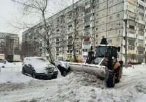 Уборка снега в Йошкар-Оле ведется круглосуточно