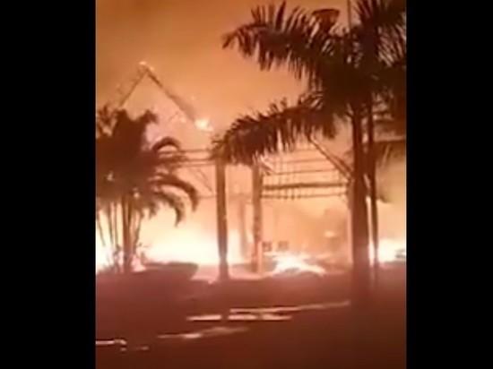 Россиянин спас туристов из горящего отеля на Занзибаре