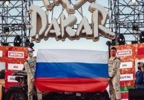 Свердловский участник Дакар поднял российский флаг на финише